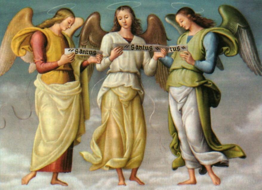 Gli Arcangeli Michele, Gabriele e Raffaele - domani è il mio onomastico dans immagini sacre arcangeli
