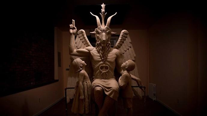 tempio dedicato a satana