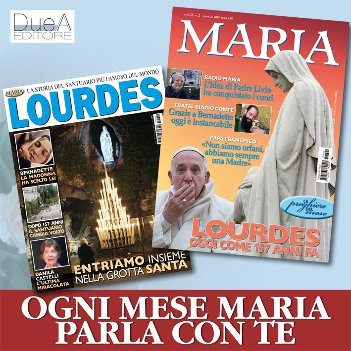 rivista mensile Maria