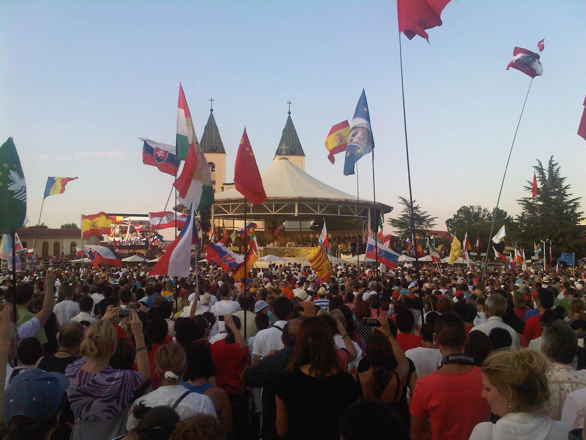 Festival dei Giovani dal 31 luglio al 6 agosto 2015 a Medjugorje