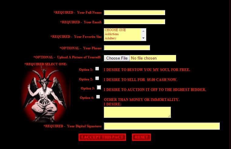 sito satanico