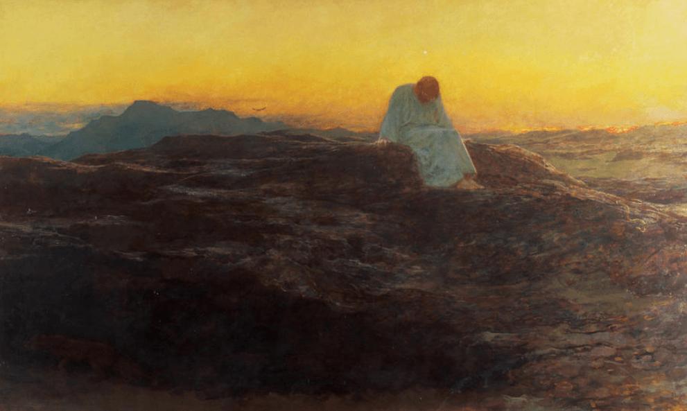 La via del monaco, Dio solo e nulla più