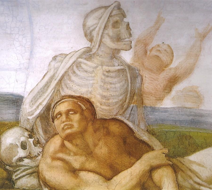cremazione violenta distruzione del corpo