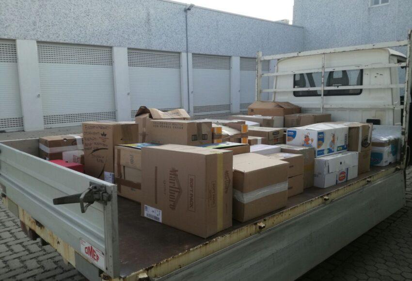 aiuti umanitari ai terremotati
