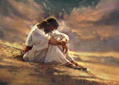 dai confini della terra Gesù tentato da satana