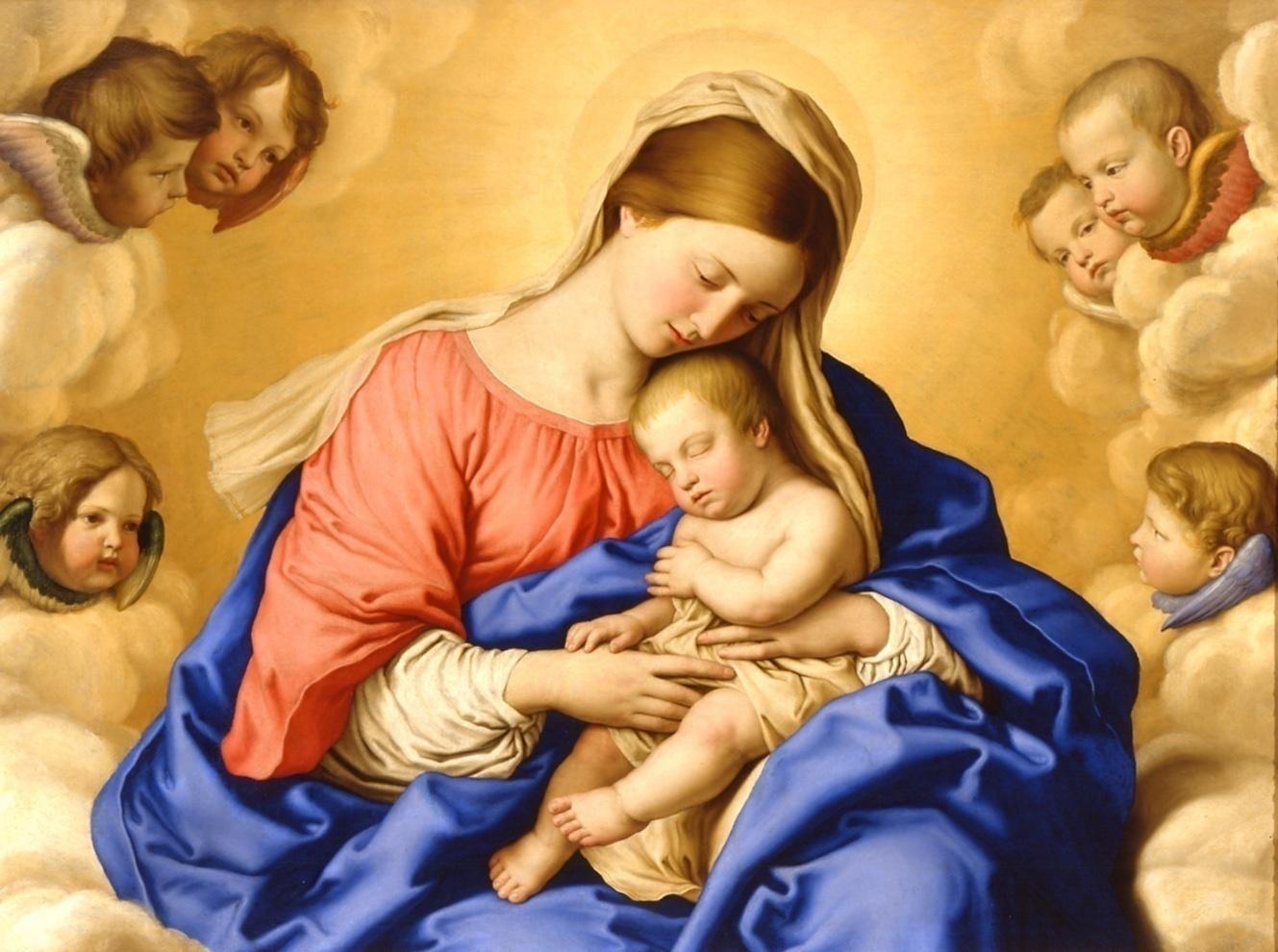 La Mamma celeste e il suo infinito amore per noi suoi figli