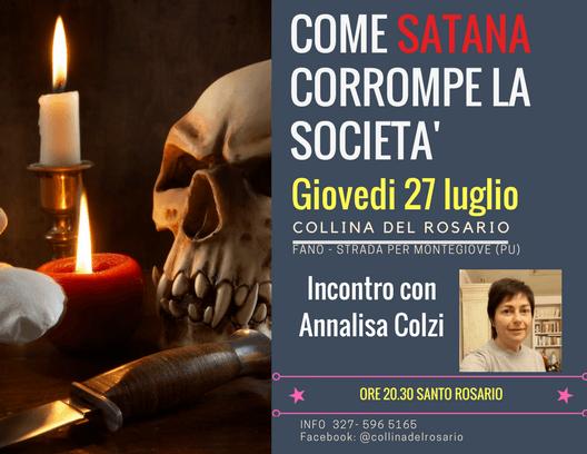 incontro Annalisa Colzi