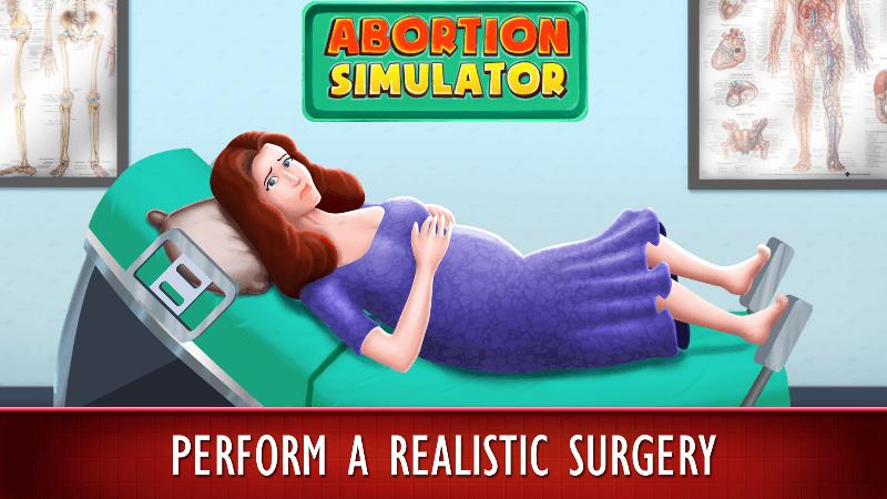 Abortion Simulator l'app per uccidere bambini tramite l'aborto