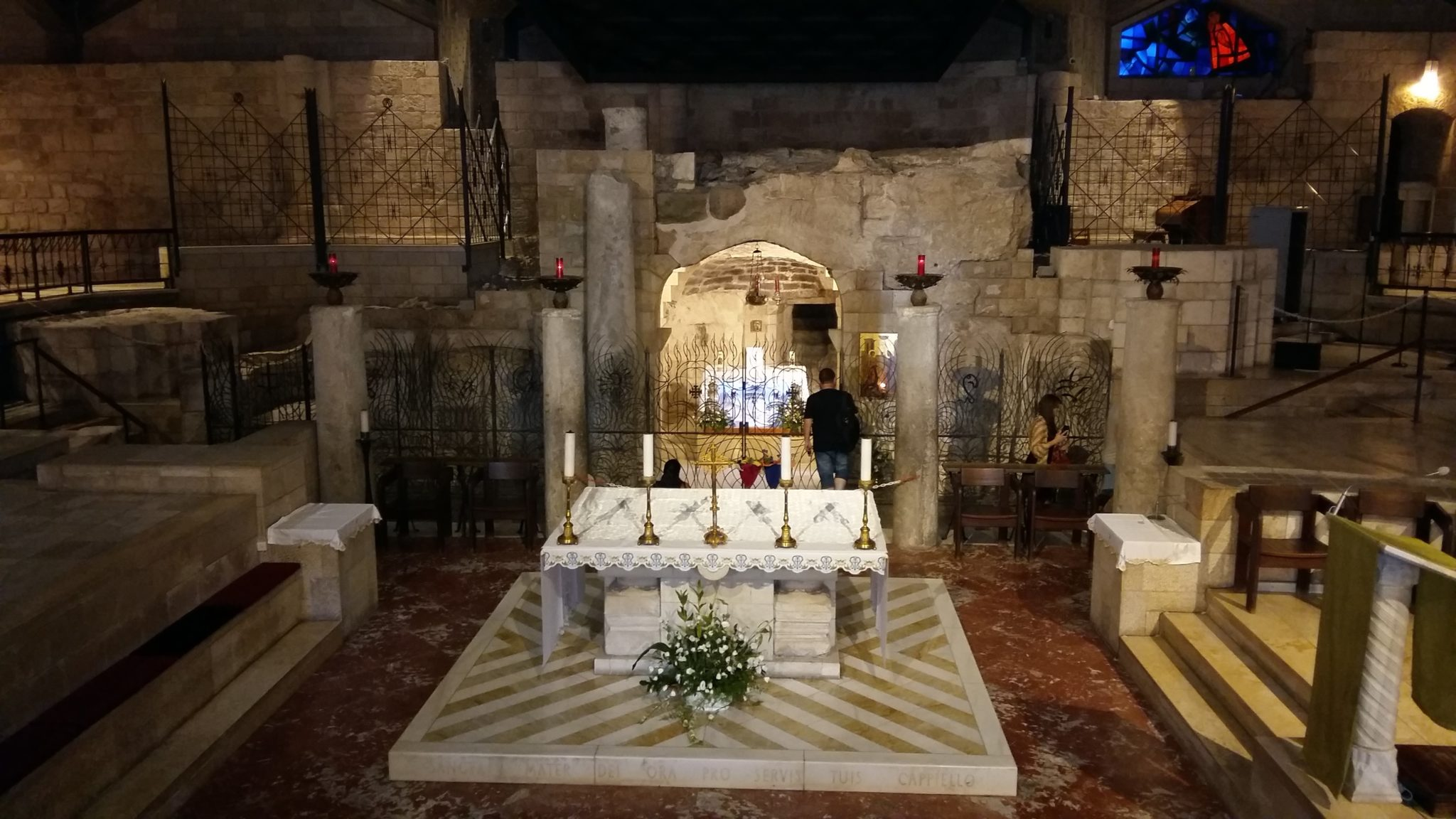 pellegrinaggio a Nazareth