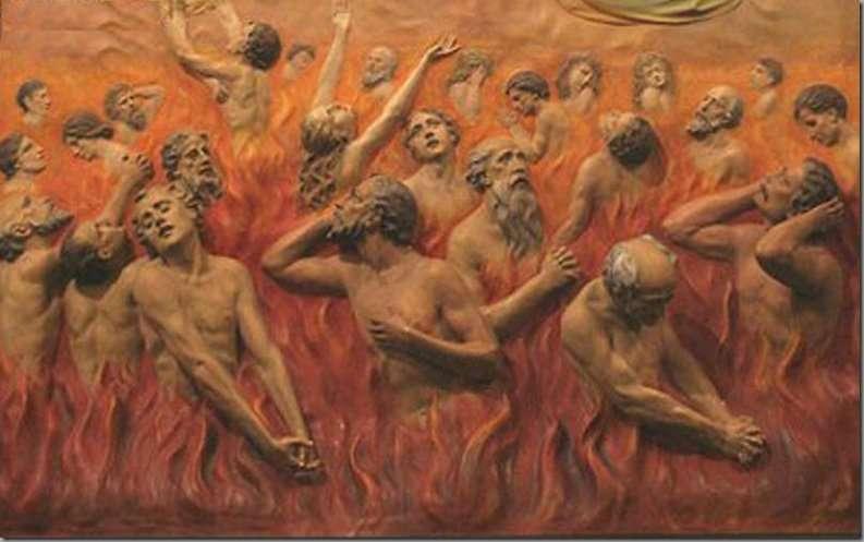 le anime del purgatorio e madre speranza