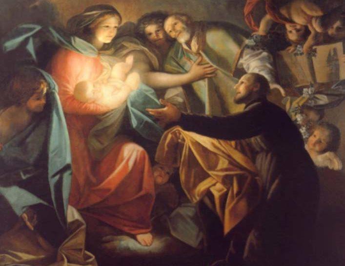 San Gaetano e Gesù Bambino: 9 giorno di novena di Natale