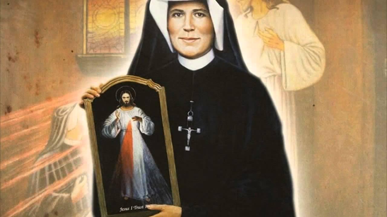 Santa Faustina Kowalska e Gesù bambino: 3 giorno di novena di Natale