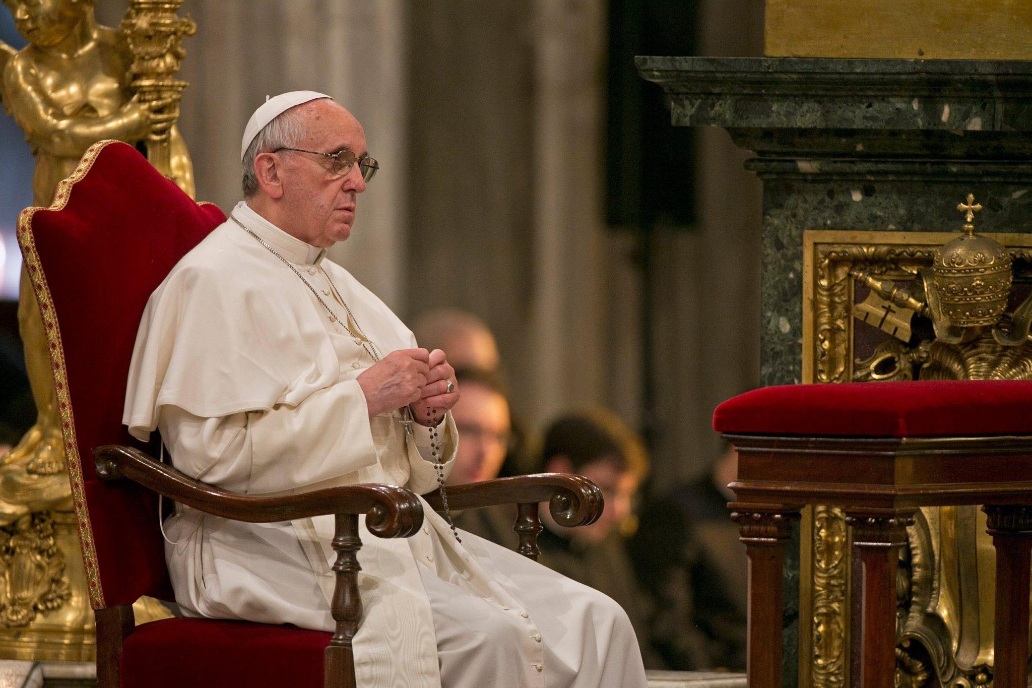 Il Rosario di Papa Francesco regalato a mio padre