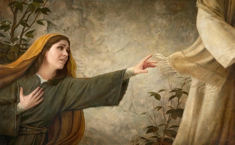 tocca le vesti di Gesù e guarisce