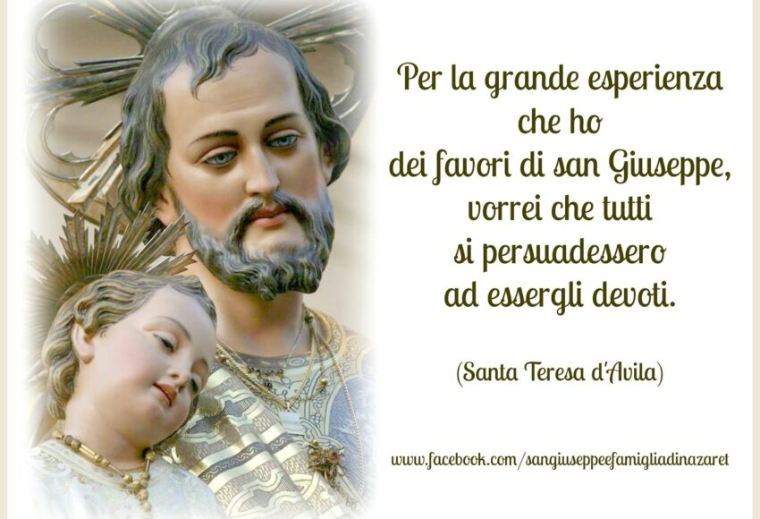 San Giuseppe - Santa Teresa d'Avila