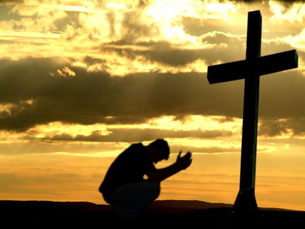 piegare le ginocchia dinanzi a Dio