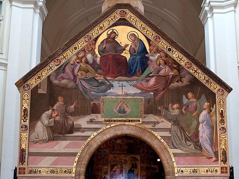 Il Perdono di Assisi Basilica Papale di Santa Maria degli Angeli in Porziuncola