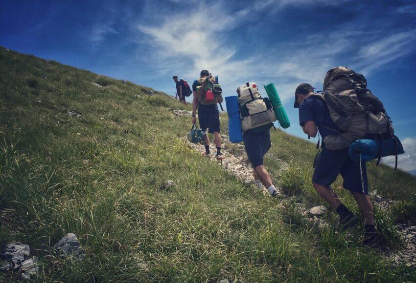 la vita spirituale è come scalare una montagna