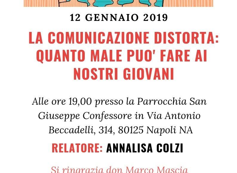 INCONTRO ANNALISA COLZI 12 GENNAIO