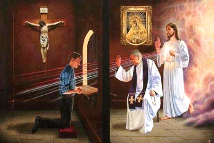 La confessione è solo un'invenzione dei preti niente di più