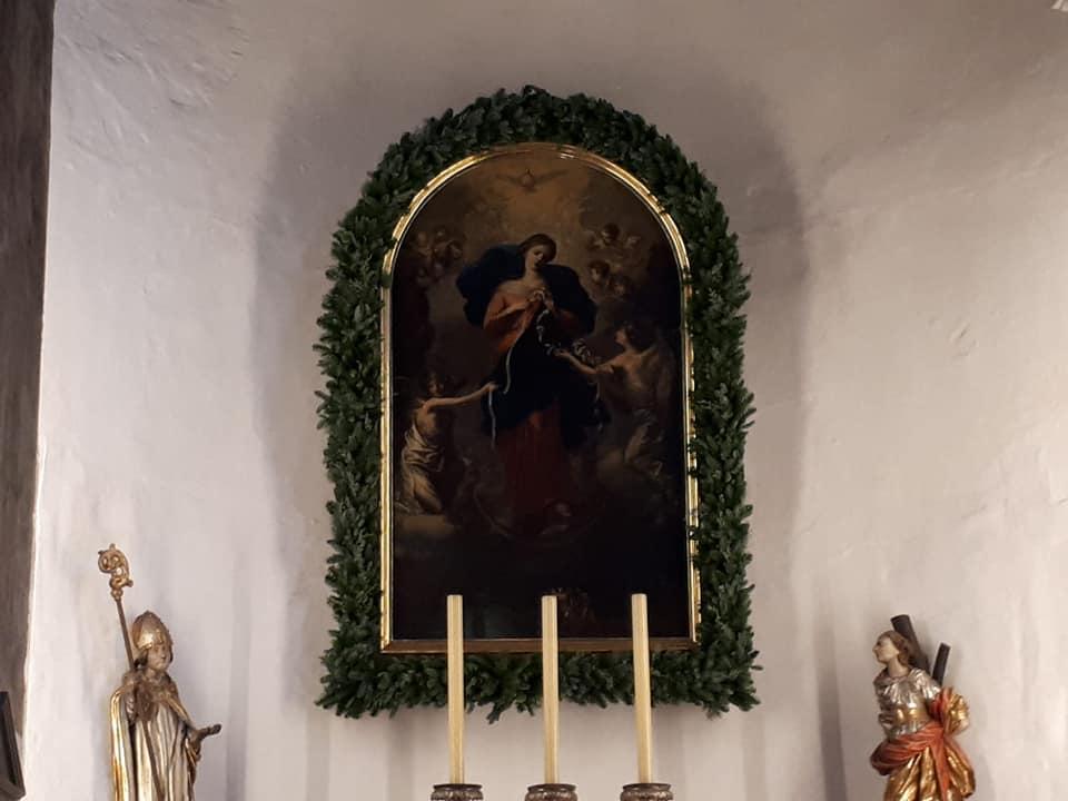 pellegrinaggio Augsburg Maria che scioglie i nodi