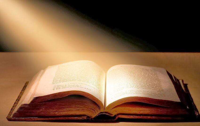 la Sacra Bibbia è un libro che respira