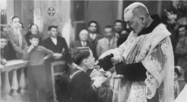 Giacomo Gaglione e Padre Pio