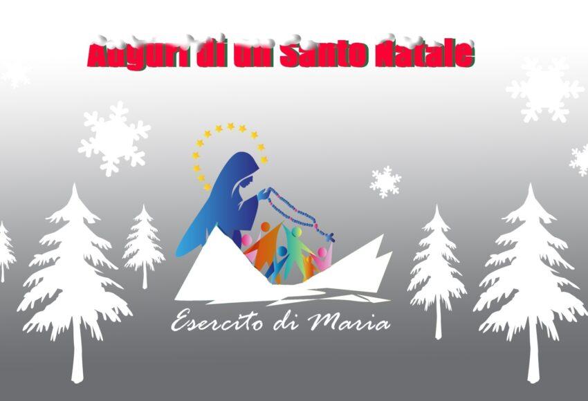 santo natale 2018 dall'Esercito di Maria