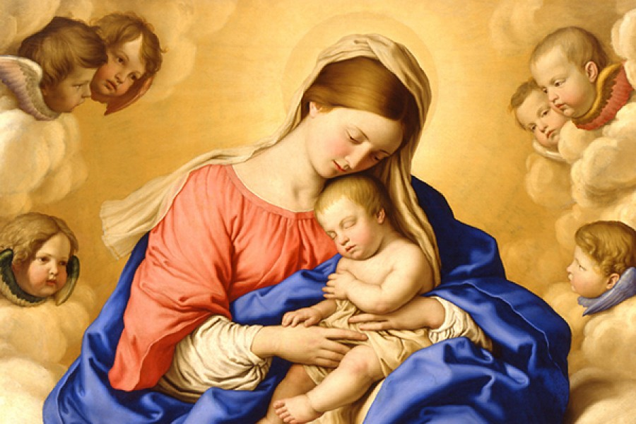 Maria è Madre ecco perchè bisogna ricorrere sempre a Lei