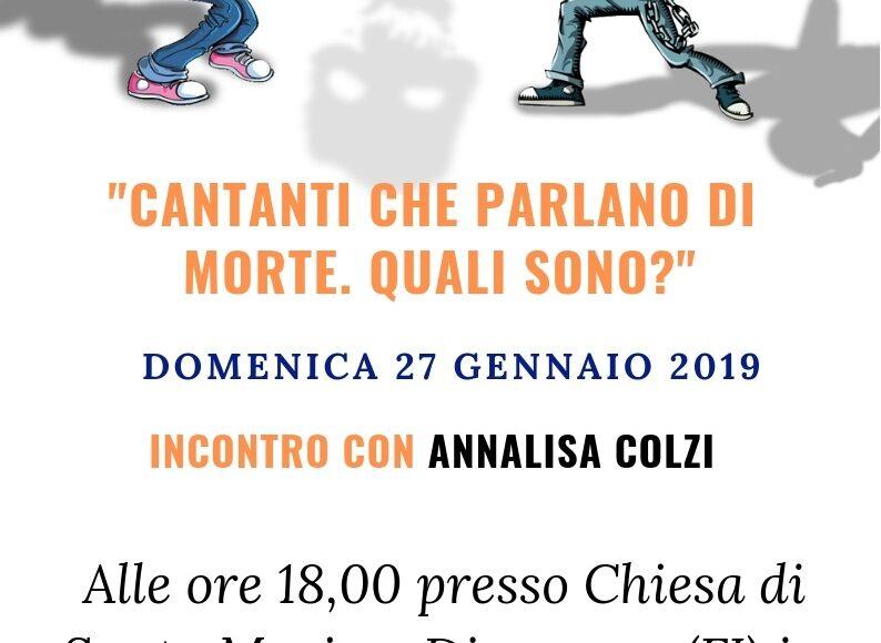 cantanti della morte Annalisa Colzi