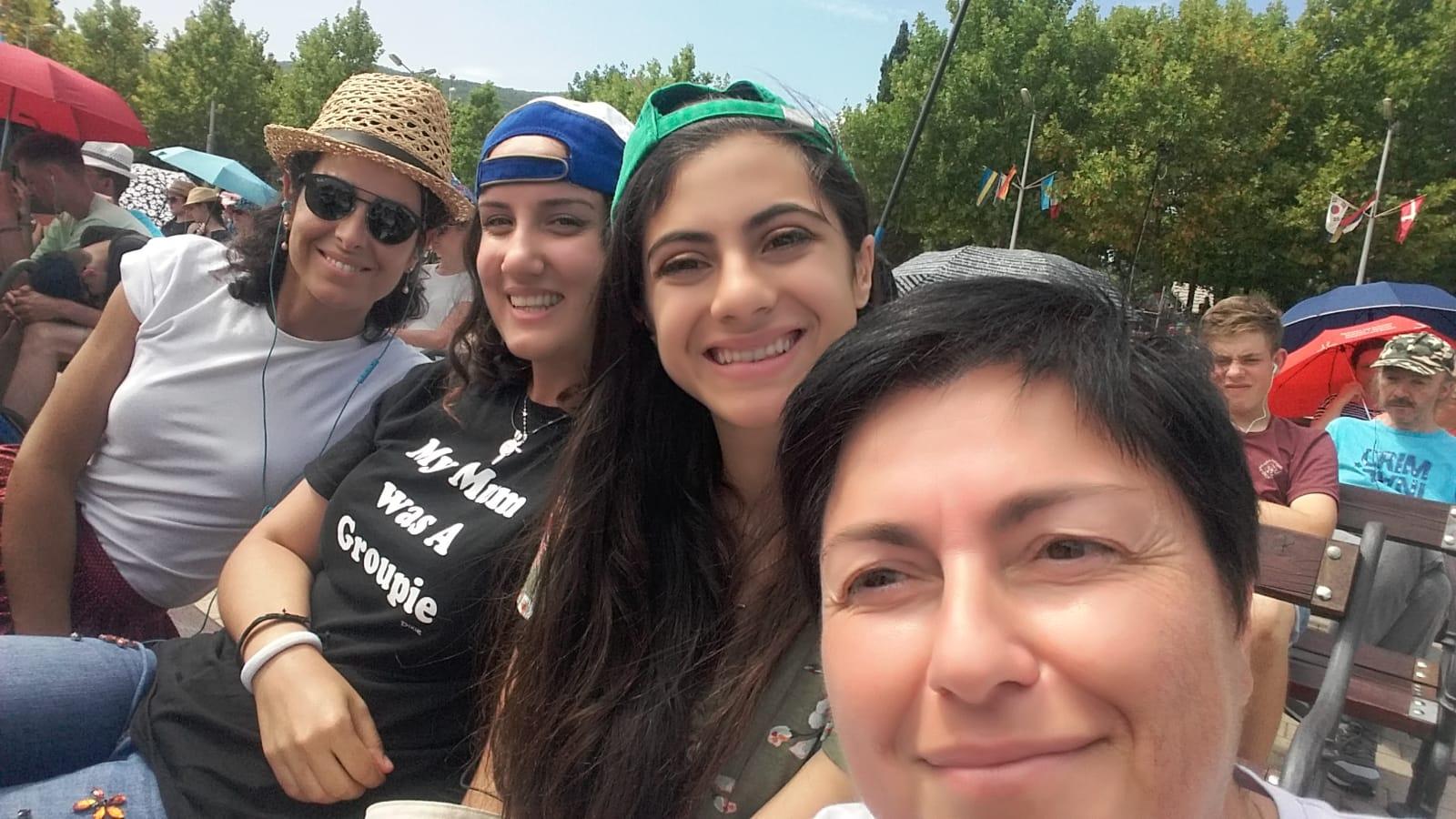 Festival dei giovani a Medugorje con Annalisa & Co