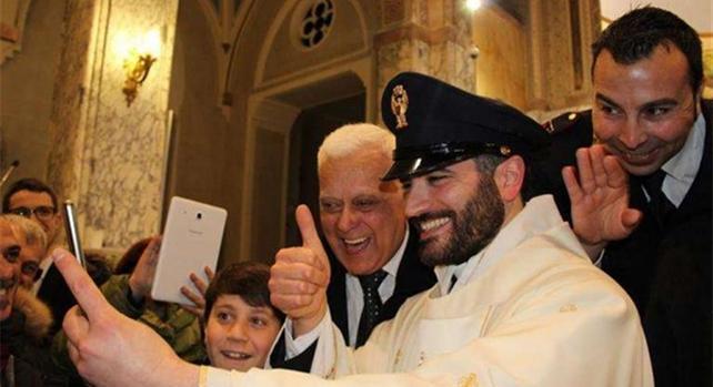 Don Ernesto: da poliziotto a sacerdote