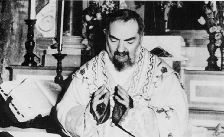 La Trasverberazione di Padre Pio da Pietrelcina