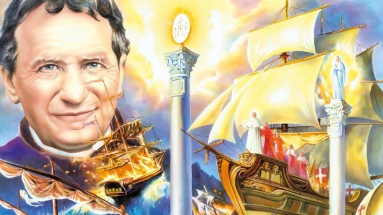Don Bosco e il misterioso sogno delle due colonne, quali profezie?