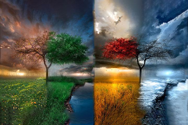 Le quattro stagioni di Cristo Gesù vissute su questa terra