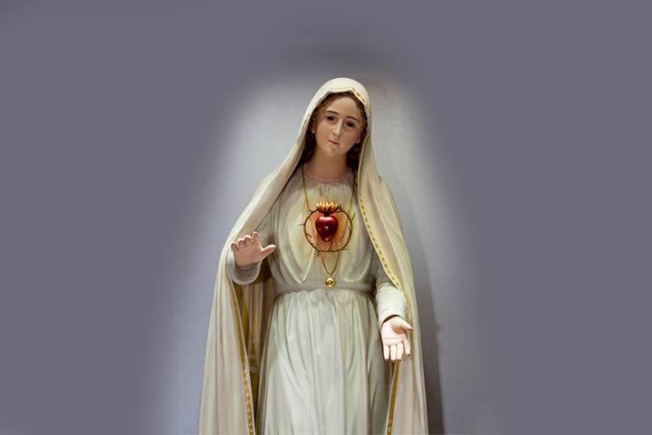 consacrata al cuore immacolato di maria