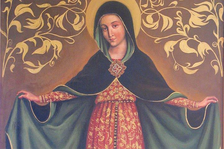 maria nella santa chiesa