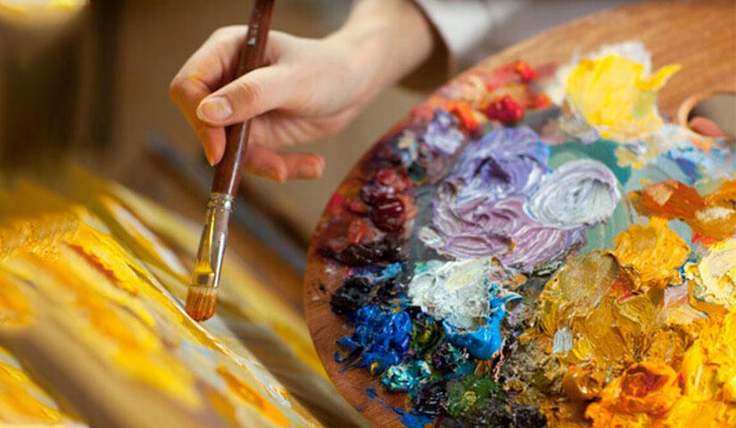 Anche se non sei un pittore; dipingi Maria