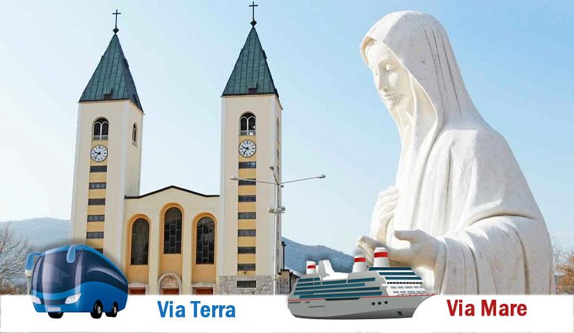 260€ – Pellegrinaggio a Medjugorje dal 30 settembre – 5 ottobre 2020