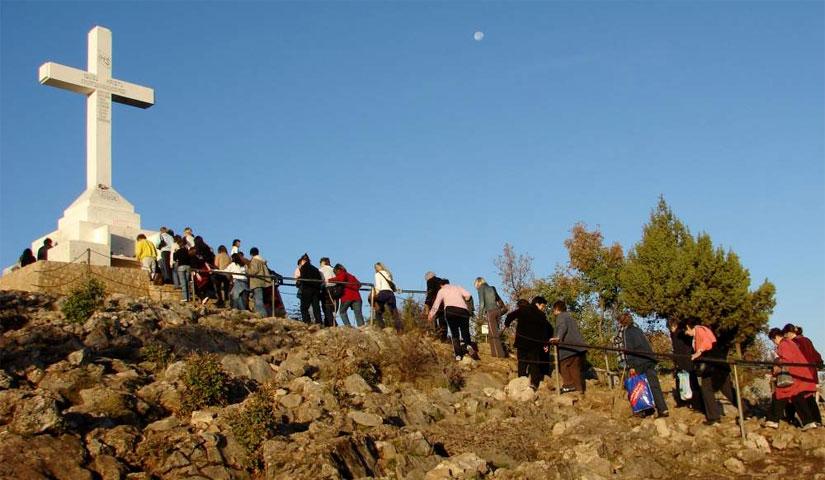 La via crucis sul monte Krizevac