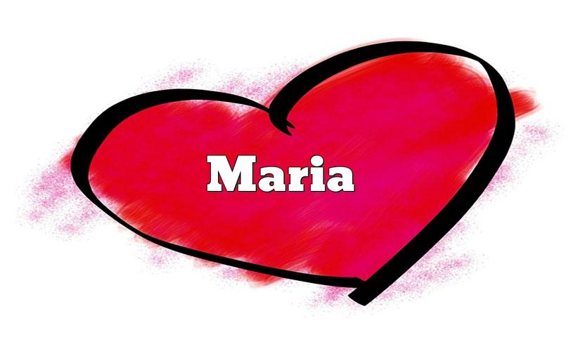 Il nome Maria è un nome grandioso