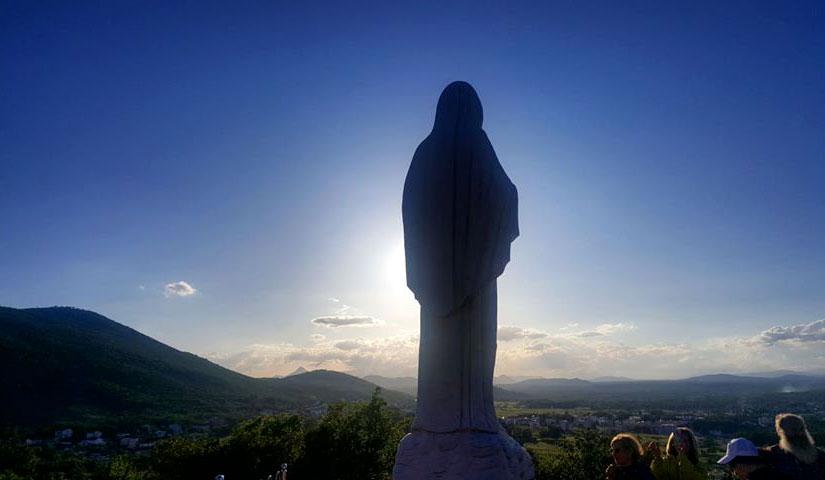 Grazie e miracoli a Medjugorje questo è il segno che la Madonna è presente