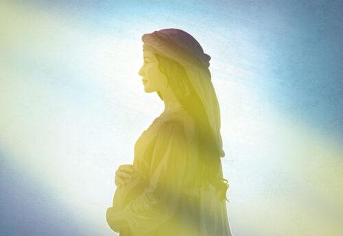 Maria Vergine è vetro puro che riflette la luce divina