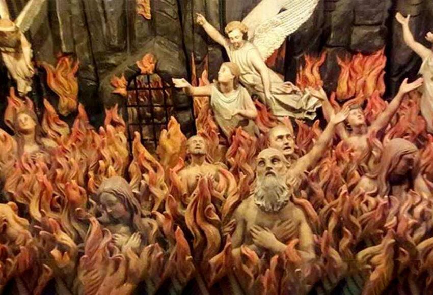 atto eroico per le anime del purgatorio