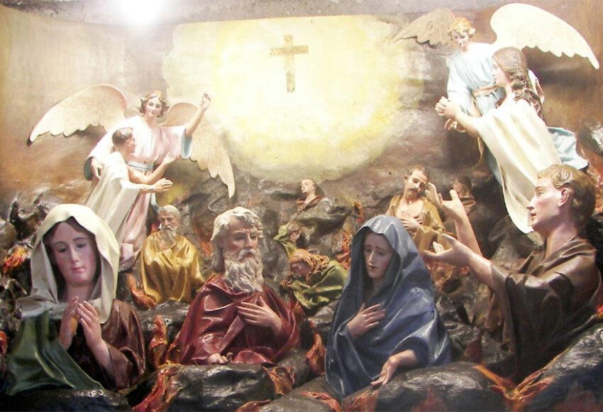 anche i santi vanno in purgatorio