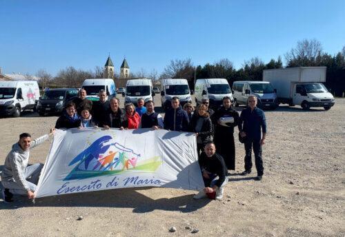 viaggio umanitario a Medjugorje