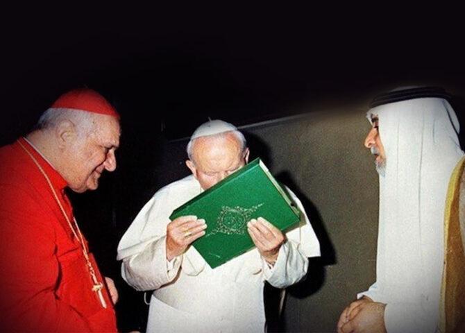 Perché San Giovanni Paolo II Baciò il Corano?
